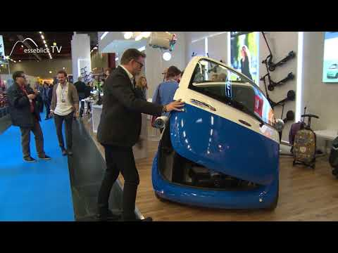 Microlino - Stadtauto mit Elektroantrieb