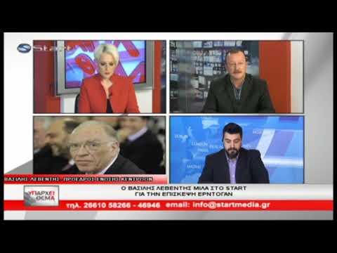 Β. Λεβέντης / Υπάρχει θέμα, Start TV Κέρκυρας / 9-12-2017