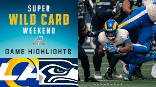 Rams vs. Seahawks Super Wild Card Weekend Highlights | NFL 2020 Playoffs