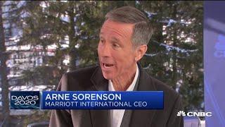 Hong Kong is a very weak market today: Marriott CEO Arne Sorenson