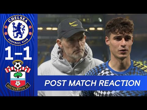 Tuchel reacts after beating Southampton on penalties | Chelsea 1-1 Southampton