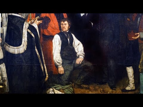 Courbet, A Burial at Ornans, 1849-50