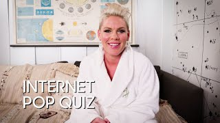 Internet Pop Quiz: P!nk