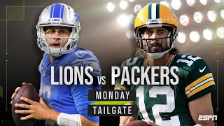 Detroit Lions vs Green Bay Packers Monday Night Football preview   Monday Tailgate