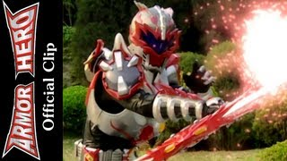 Armor Heroes Fight with the Ray Monster - Armor Hero Official English Clip  [HD 公式] - 40
