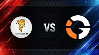 Brain Storm vs IMPACT Gaming - day 4 week 8 Season I Gold Series WGL RU 2016/17