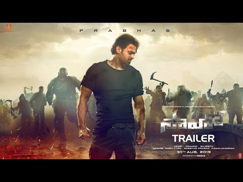 Saaho Official Trailer