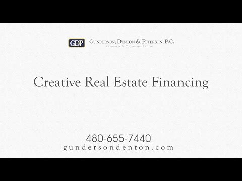 Creative Real Estate Financing