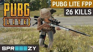 PUBG Lite 26 KILLS | FREE To Play | FPP Solo