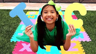 Learn ABC Alphabet Pretend Play with Wendy | Kids Learn English Alphabet & ABC Song