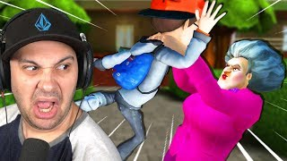 Hello Neighbor's Sister is INSANE! *New Update* | Scary Teacher 3D