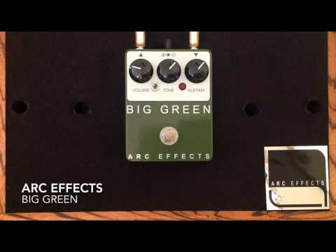 ARC Effects Big Green Distortion Pedal
