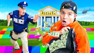 I Challenged Real Police to COPS vs ROBBERS Board Game!