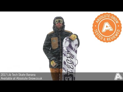 2016 / 2017 | Lib Tech Skate Banana Snowboard | Video Review