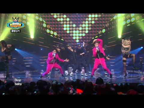 TVXQ - Something, 동방신기 - 썸씽, Show Champion 20140305