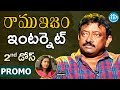 RGV talks bold about Internet - Promo- Ramuism 2nd Dose..