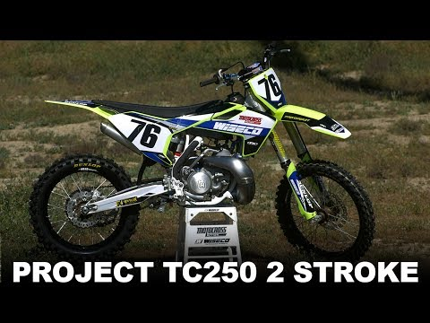 Project Husqvarna TC250 2 Stroke - Motocross Action Magazine