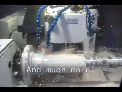 Precision Grinding. Grindal's  New Mitsubishi PD32 External (O.D.) Grinder