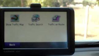 PART 1- HOW TO USE FREE LIFETIME GARMIN TRAFFIC REPORTING ON NUVI 265WT GPS BASIC TUTORIAL, PART I
