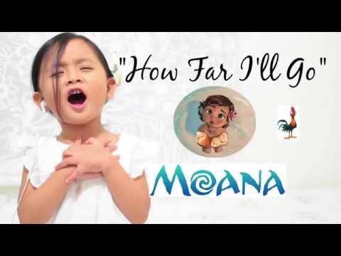 Disney's Moana - How far I'll go - cover ( Maxime - 3 year old)