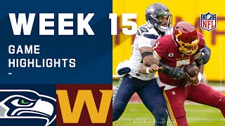 Seahawks vs. Washington Football Team Week 15 Highlights | NFL 2020