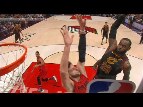 LeBron James' Thunderous Poster Jam From All Angles!