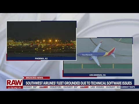 Southwest Airlines grounds fleet nationwide over tech issues with weather software