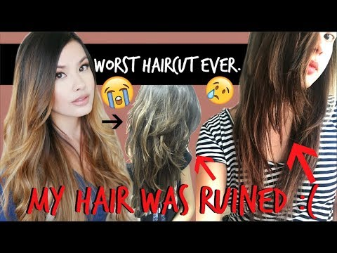 THE WORST HAIRCUT FAIL EVER | My Hair Got Butchered :(