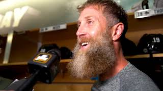 Joe Thornton on resigning with the San Jose Sharks