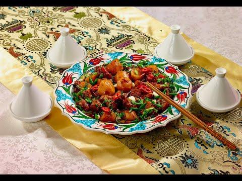 Дапанджи — уйгурское блюдо с курицей   Вкусный рецепт от Сталика Ханкишиева