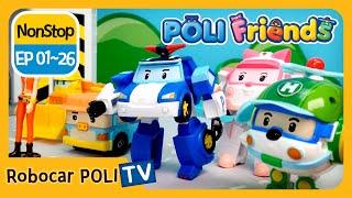 EP01~26 | POLI Friends | Robocar POLI | 180MIN | Nonstop