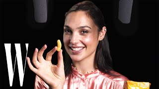 Gal Gadot Explores ASMR with Whispers, Knives, and Snacks | Celebrity ASMR | W Magazine