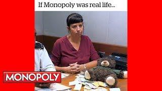 If Monopoly Was Real Life - Hasbro Gaming