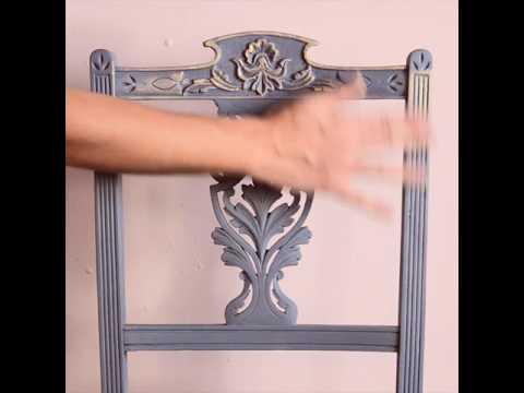 Quick Annie Sloan Gilding Wax tutorial