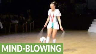 Cirque du Soleil jump rope artist will blow your mind