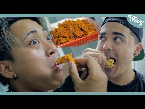 KPOP YouTubers Try Korean Fried Chicken For The First Time feat. JRE & KennyBoySlay