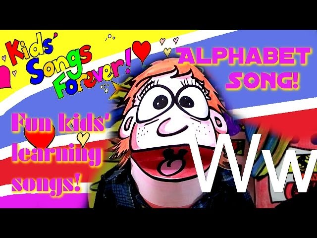 ALPHABET SONG, Learn the English alphabet. A B C. kids' songs.