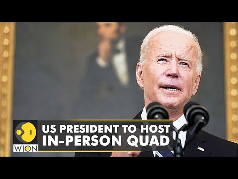 US President to host long planned in-person quad summit on Sept 24 | Latest World English News