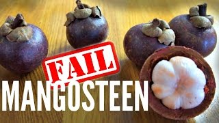 MANGOSTEEN Taste Test - how not to pick a mangosteen| Fruity Fruits
