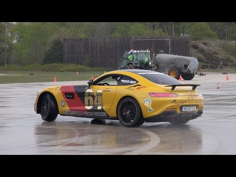 2015 Gumball 3000 Mercedes-AMG GT S Edition 1 Drifting!