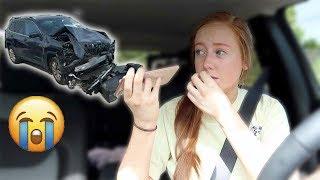 I CRASHED MY BRAND NEW CAR! *prank*