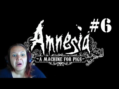 Let's Play - Amnesia: A Machine For Pigs #6 - THROWING PIGS!