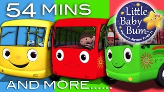 Wheels On The Bus | Nursery Rhymes for Babies | Little Baby Bum | Videos for Kids