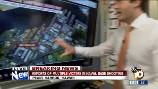 Active shooter reported at Pearl Harbor Naval Shipyard