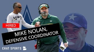 Cowboys News: Mike Nolan To Become Mike McCarthy's Defensive Coordinator In Dallas; Scheme Change?