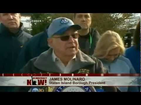 Starting Line of Canceled Marathon, NYC's Staten Island Overcome by Post-Sandy Desperation