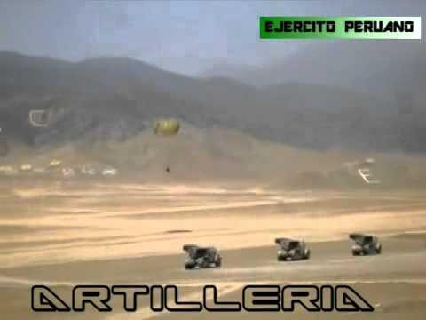 EJERCITO PERUANO Poderosa artilleria