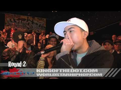 KOTD - Beatbox Battle - KRNFX vs Kaleb Simmonds (Canadian Idol)