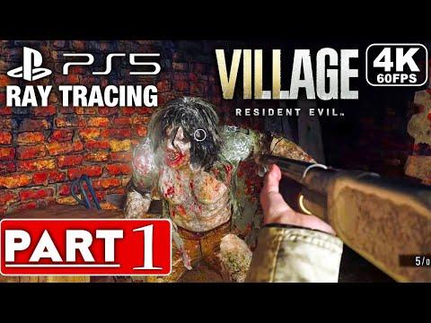 RESIDENT EVIL 8 VILLAGE Gameplay Walkthrough Part 1 FULL DEMO [4K 60FPS PS5] – No Commentary