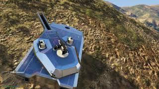 GTA 5 Siêu Xe Tank Đi Offroad Leo Núi Lội Nước Đẳng Cấp Luôn Và Cái Kết Té Núi Nổ Tung